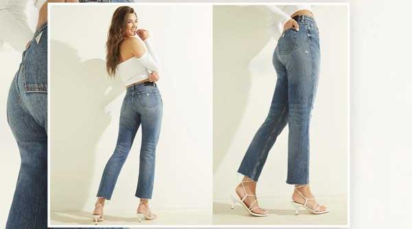 Женские джинсы GUESS, что сейчас в трендах?
